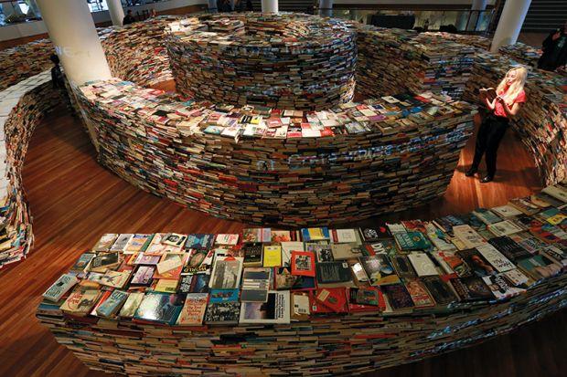 Twirling books